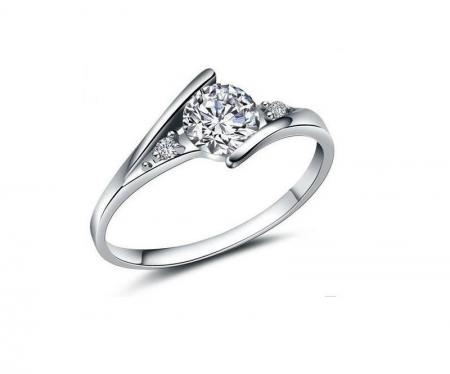 Zilveren Ring met Zirkonia - Damesring