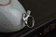 Zilveren Ring - Hand van Boeddha