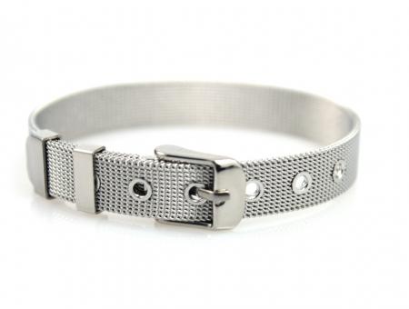 Armband Riem Design RVS Edelstaal