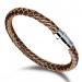Rond Gevlochten Armband - Leren Armband