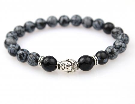 Kralen Armband Natuursteen - Boeddha