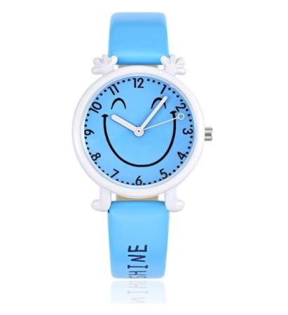 Happy Smiley Kinderhorloge - Blauw