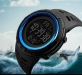 Sporthorloge - Countdown - Dual Time - Blue