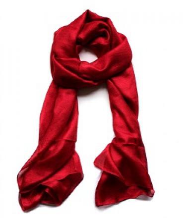 Luchtige Dames Sjaal - Rood