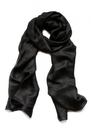 Luchtige Dames Sjaal – Zwart