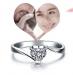 Zilveren Ring – Hart – Zirkonia