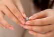 Zilveren damesring met hart