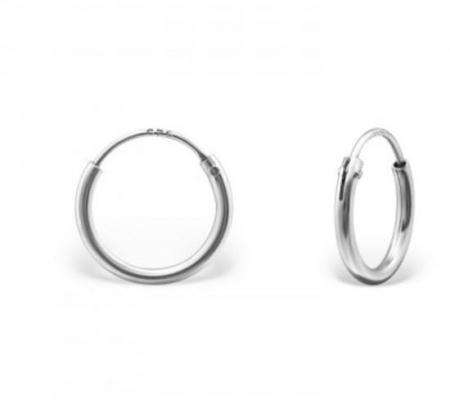 Zilveren Oorringen - Creolen zilver - zilveren oorbellen
