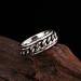 Zilveren Kabel Ring - 8mm Breed