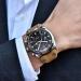 Aviator Horloge - Chronograaf - Lederen Band - Benyar