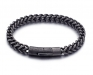 Donkere Stalen Armband - Stainless Steel
