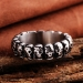 Stalen Doodshoofd Ring – RVS Edelstaal – 19.0mm
