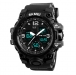 Sporthorloge - Dual Time - Chronograaf - Black