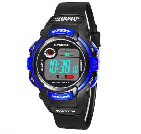 Multifunctioneel Horloge - Kinderhorloge - Blauw