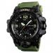 Sporthorloge - Dual Time - Chronograaf - Army Green