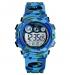 Kinderhorloge - Chronograaf - Waterdicht - Sports Watch Kids - Camouflage Blue