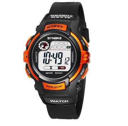 Multifunctioneel Horloge - Kinderhorloge - Oranje