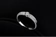Damesring - Slanke Ring - Kristal